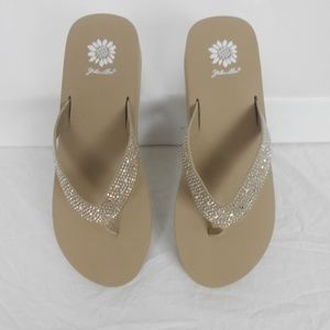 Yellow Box  Africa Taupe Flip Flop Taupe 11M New